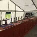 All set up and good to go! 😎🍻 @leighminersrl @MinersLadiesRL