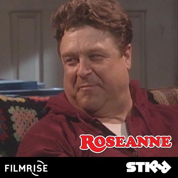 Happy Birthday to John Goodman! Watch him in Roseanne anytime, anywhere with STIRR.