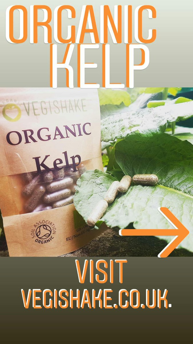 What do you  most about the ocean comment below  http:// Vegishake.co.uk     Organic Kelp: High in vitamins A, B1, B2, C, D and E - These vitamins are essential for bone formation and growth and may help towards bone health - #veganshare #bodybuilding #veganlove #veganbeauty #love<br>http://pic.twitter.com/T4Fj8BXCqz