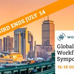 Registration is now open for the Global Workforce Symposium in Boston 16-18 October. Register by July 14 for early bird pricing!  https://t.co/KhY2nR87d1