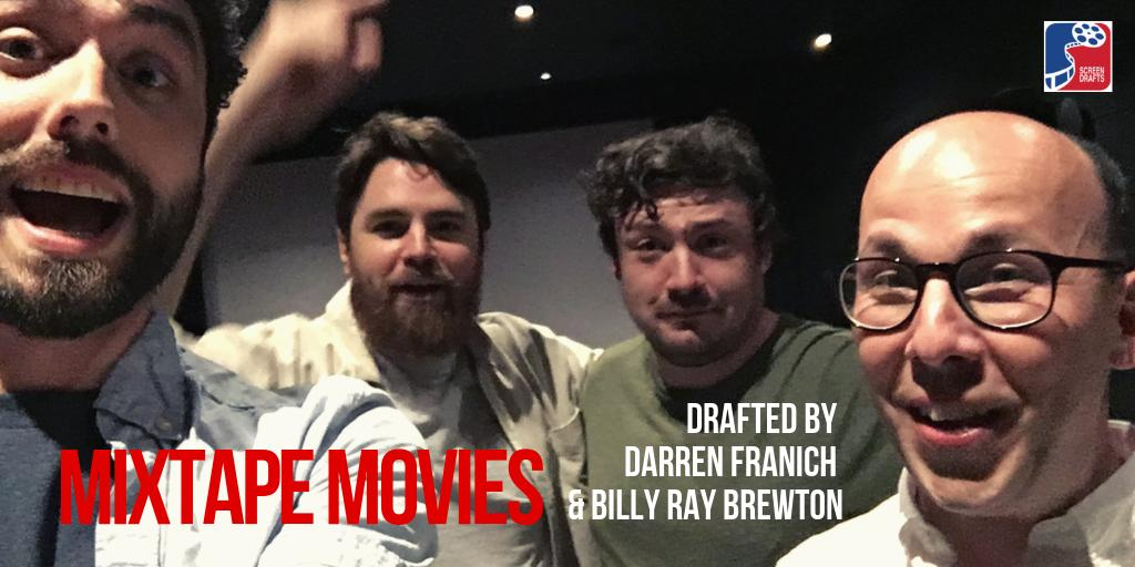 ICYMI:  We ain't too proud to beg you to listen to the new episode!  Fan favorites @DarrenFranich & @BillyRayBrewton finally face off, drafting the best MIXTAPE MOVIES of all-time! Find it on Apple, etc.  Also: Billy Ray announces the topic and drafters of the next #SuperDraft... <br>http://pic.twitter.com/t6wQdpuNJv