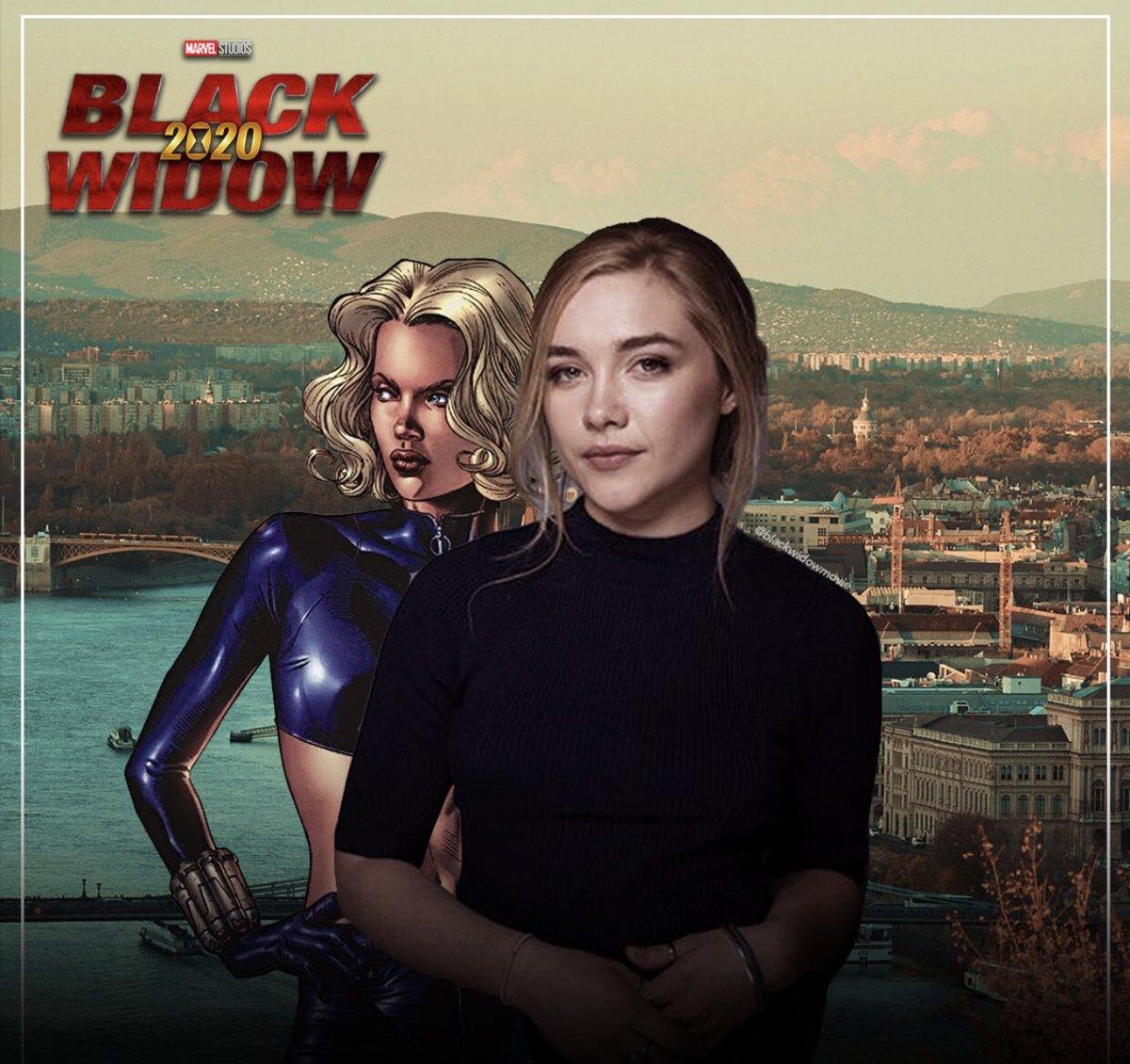 Black Widow Movie Source On Twitter Florence Pugh Has