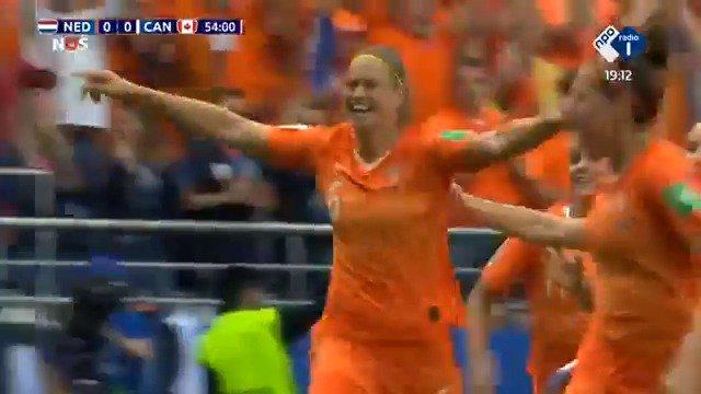 Nederland - Canada 1-0 door Anouk Dekker