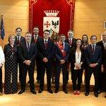 Image for the Tweet beginning: .@PSOEAlcobendas y @CiudadanosCs presentan el