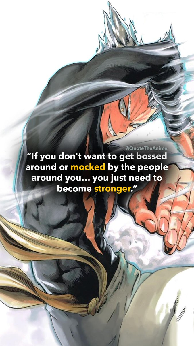 Quote The Anime A Twitteren Wallpaper Garou Quotes One Punch