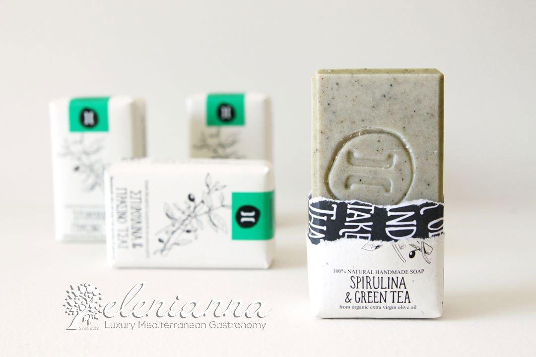 Helleo natural soap bars