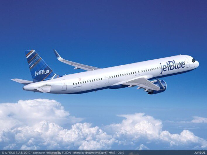 #JetBlue has decided to convert 13 A321neo into the new A321XLR.  #flightmodeblog #flightmode #aviation #avgeek #airlines #airways #aircraft #planes #avgeeks #aviationlovers #Airbus #aviationdaily #A321XLR #PAS19