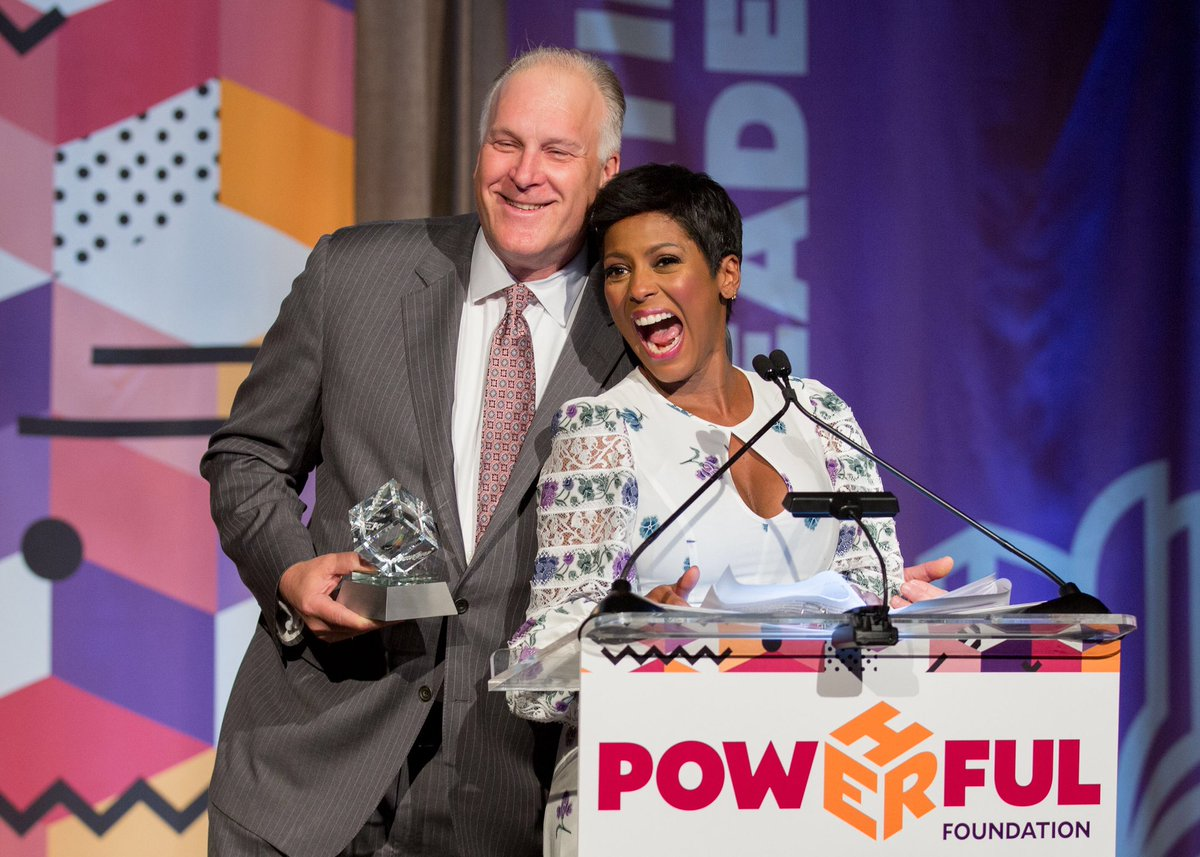 Thank you @JWertlieb for the consistent support and partnership from @Hearst Television. We were honored to highlight your dedication as we work to provide educational opportunities for the young women we serve. Loving this moment w/ @tamronhall 📸: @boxofdreams_NYC