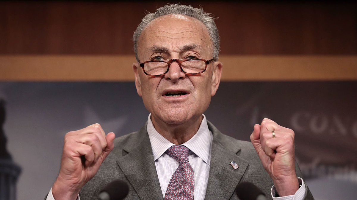 Chuck Schumer: 'The American People Deserve A President Who Can More Credibly Justify War With Iran' https://trib.al/6cZlNjY