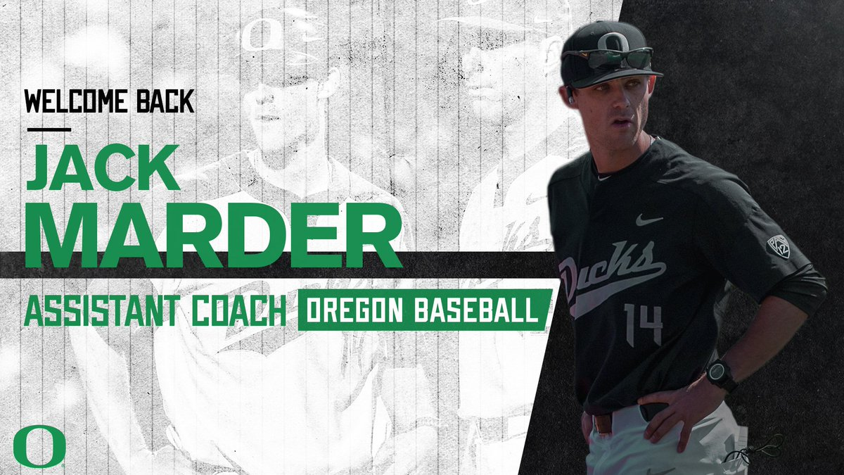 Proud to announce the return of @JackMarder3  to the program as an assistant coach. Coach @Waz4412 makes the former Duck his first hire as head coach. #GoDucks   Story: https://bit.ly/2ZyYRCH