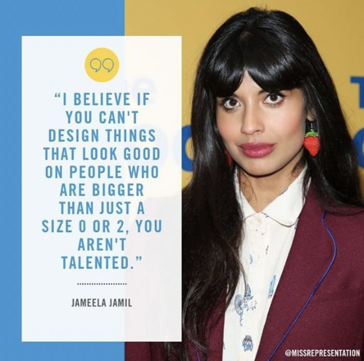 So suck on that.... 💁🏽‍♀️   (whole interview here.) https://www.google.com/amp/www.papermag.com/jameela-jamil-fat-and-all-that-2638703975.amp.html …