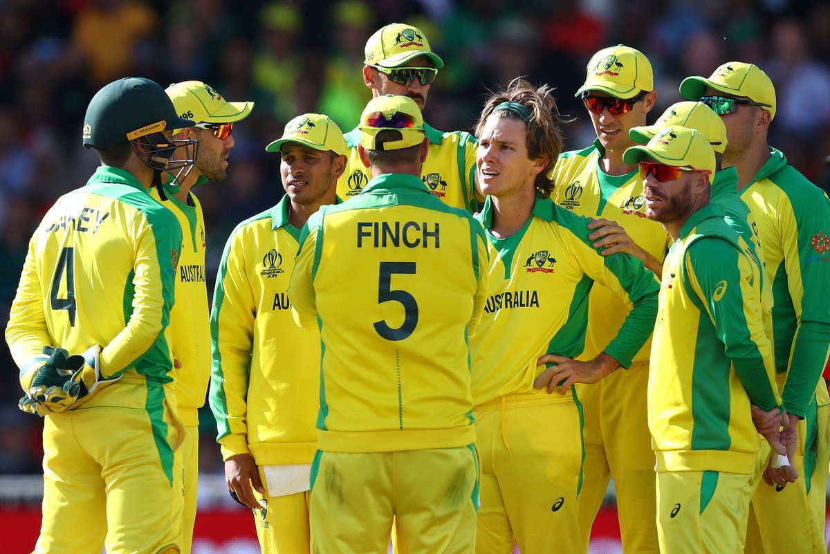 Watch all of the Aussie wickets as they completed a 48-run victory over Bangladesh in Nottingham #CmonAussie #CWC19