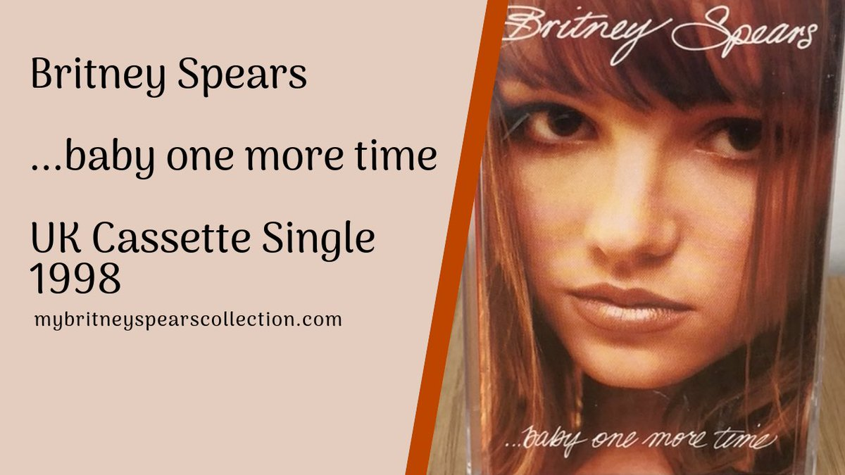 """2nd Video of the week is now up: the UK Cassette Single """"Cassingle"""" of Baby One More Time  https:// youtu.be/NPMruGj0QhM     #britneyspears #britney #babyonemoretime @britneyspears<br>http://pic.twitter.com/cujFQQpLXk"""