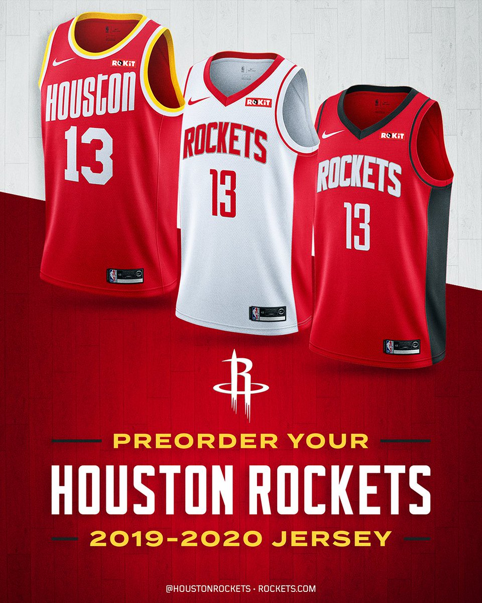 🏀 Three New Uniforms 🚀 Classic 94-95 🚀 Association 🚀 Icon Preorder all the 🔥 now at RocketsShop.com!