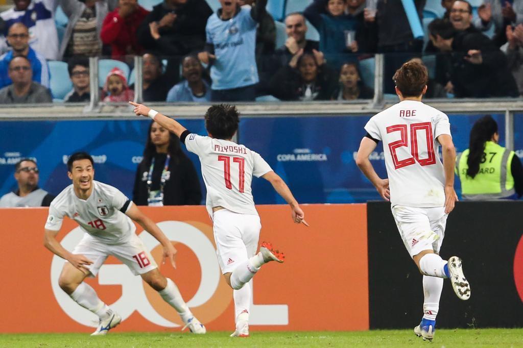 Копа Америка. Яркий матч между Уругваем и Японией закончился результативной ничьей - изображение 1