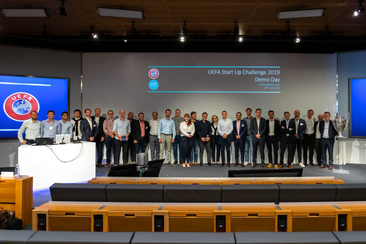 ⚡️ Innovators assemble! ⚡️  Huge pleasure to hear presentations from 7⃣ start-ups, who tested their innovations and tech on UEFA competitions and events over the past few months.  Some great insights and results. The future is bright! 💡  Stay tuned for a full article 📺