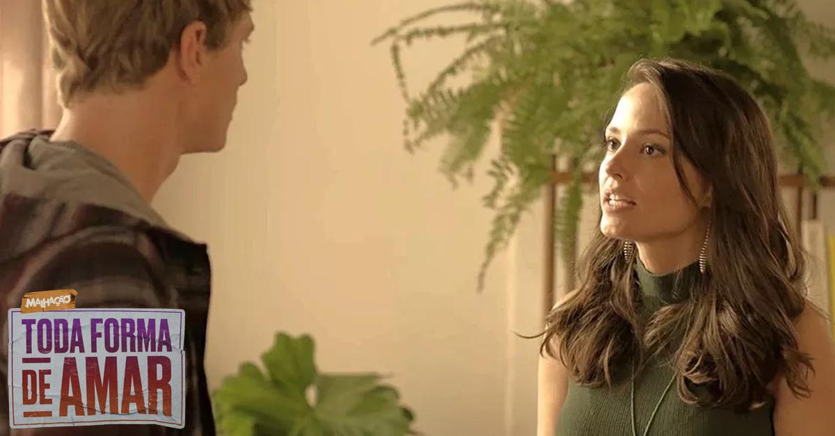 Lara coloca Filipe contra a parede: 'De que lado você está?' → https://glo.bo/2IvwnUYE agora, Filipe? #TodaFormaDeAmar #Malhação