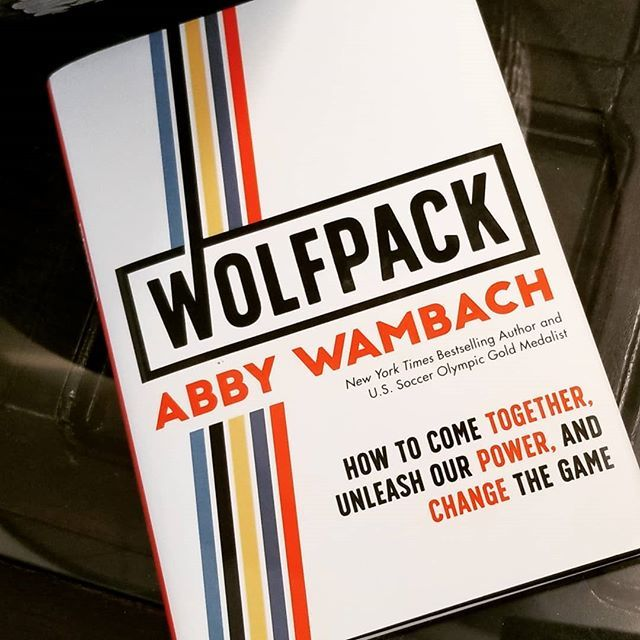 "We just finished reading through @abbywambach's new book WOLFPACK..""Be grateful for what you have AND demand what you deserve."" - A.W. #inspired #wednesdaywisdom"