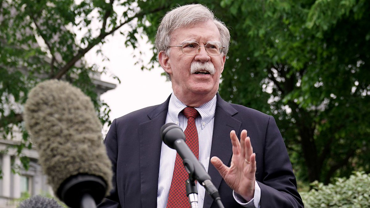 Bolton Argues War With Iran Only Way To Avenge Americans Killed In Upcoming War With Iran https://trib.al/GDmEmGW