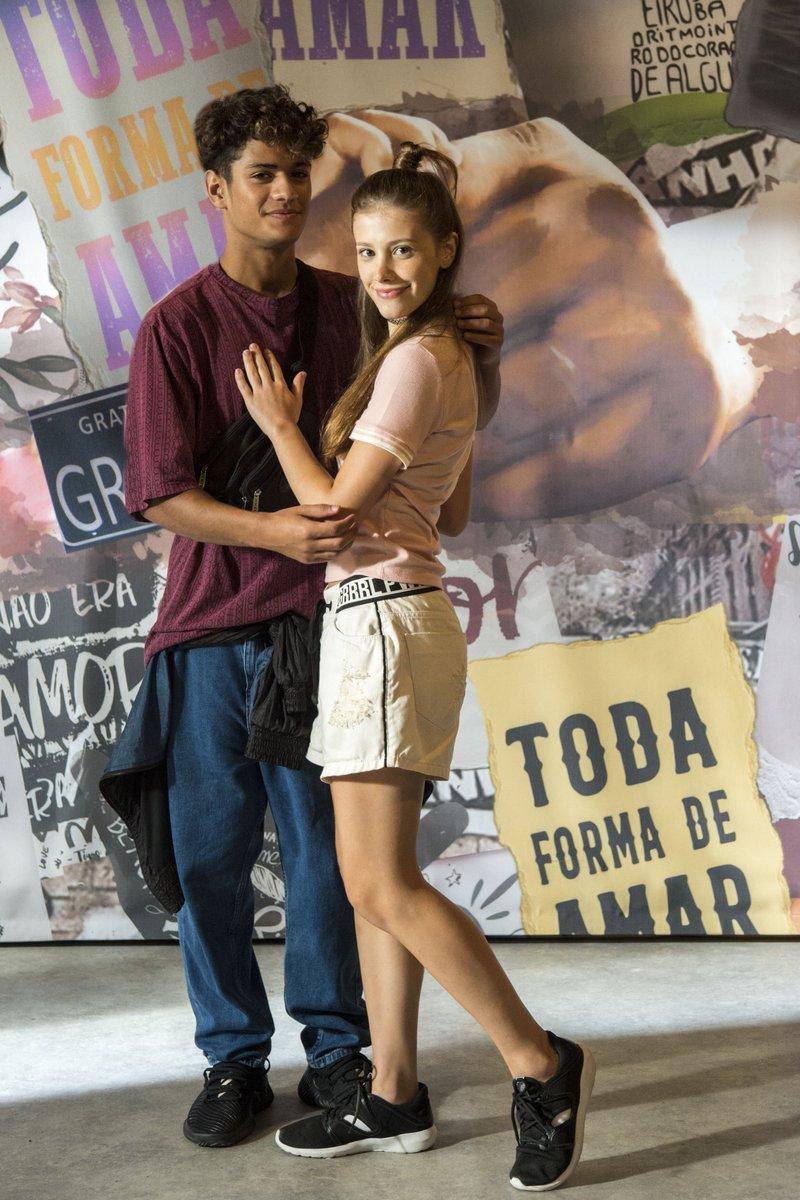Curtindo a liberação do namoro! ❤️#Malhação #TodaFormaDeAmar
