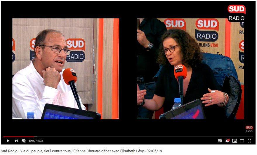 Chouard viré de Sud Radio