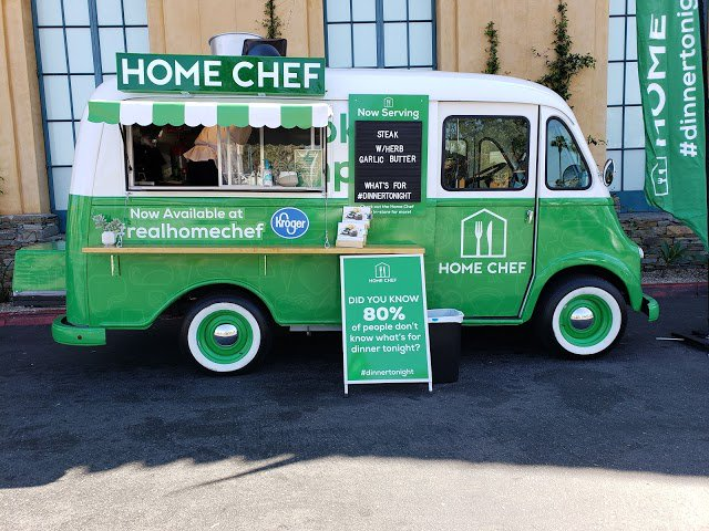 Home Chef is touring the US in a food truck, visiting more than 80 stores in 20 major cities. Each event includes giveaways, games and delicious samplings! Check out the tour schedule and catch Home Chef when they're in your city. Next stop, Nashville! http://spr.ly/6015Eqt7b