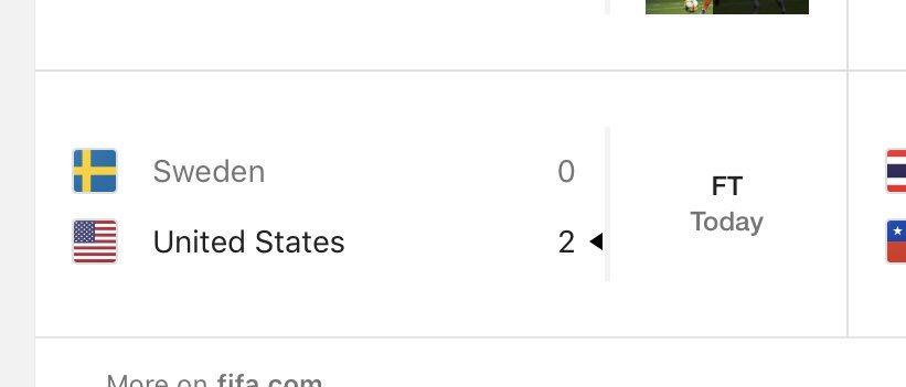 Keep movin' on #USA👏🏼👏🏼👏🏼⚽️⚽️#WorldCup19