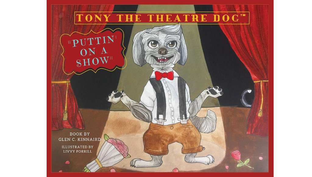 🔹 Tony the Theatre Dog 🔹 Avail in digital #eBook for iPad & tablets. Limited Quantity, Limited Time $7.99 https://www.tonythetheatredog.com/product-page  @tonytheatredog #theatre #broadway #childrensbooks #acting #director #theater #choreography #nyc #newbooks #lightingdesign #setdesign #costumedesign