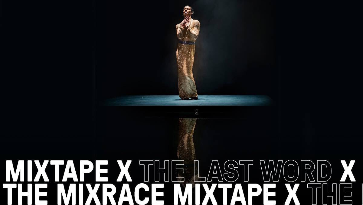 Mixrace Mixtape at @RoundhouseLDN is phenomenal! What a spectacular performer and incredible staging. Blown away... #lgbtqia #queer #theatre