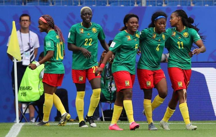 Two African teams qualify for Round of 16.Nigeria to face Germany Cameroon face England Congratulations, Nigeria and Cameroon. #FIFAWWC