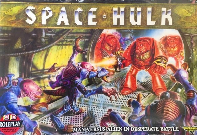 Here it is then, folks. The thing that got me into Warhammer 40k. Space Hulk, from 1989. It starts with an innocuous board game, that gets you into collecting the miniatures, that gets you into the gaming... #SpaceHulk #WH40k #SpaceMarines #Genestealers