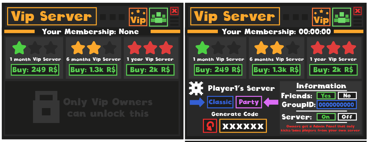 Matthew Allsbrook On Twitter Making Our Own Vip Server System In