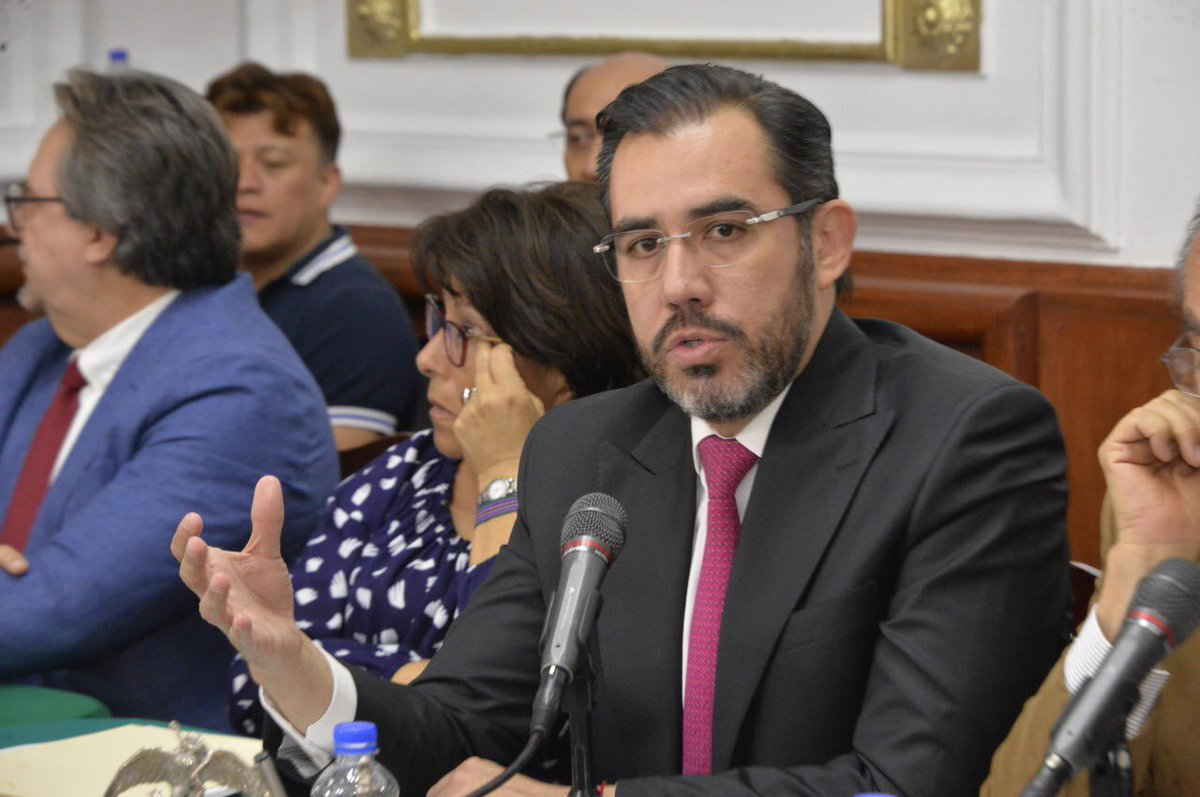 Jesús Orta, titular de la Secretaría de Seguridad Ciudadana de la Ciudad de México.