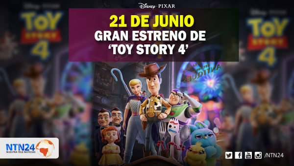 'Toy Story 4' llega a las salas de cine este 21 de junio   http://bit.ly/2L5ddHc