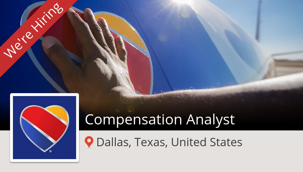 #Compensation #Analyst (#job) wanted in #Dallas. #SouthwestAirlines https://workfor.us/southwest/jb4f