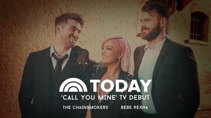 .@Shazam our performance during the @TODAYshow to get more music and tour dates!
