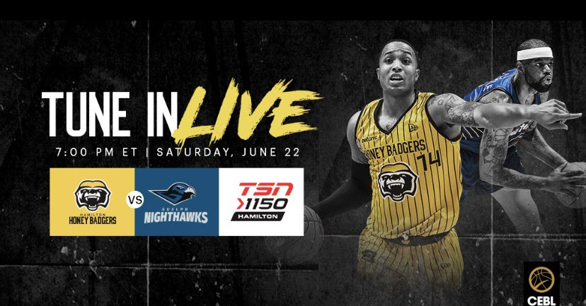 Can't make it up to Guelph on Saturday night? We've got you covered!   Tune in to @TSN1150 and listen live as we take on the @GNighthawks at 7pm.   #NextPlay #HoldCourt<br>http://pic.twitter.com/j6w6tDZ55b
