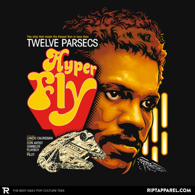 Hyper Fly T-Shirt -  https://www. theshirtlist.com/hyper-fly-t-sh irt/  …  Lando Calrissian t-shirt from @riptapparel for just $13! #CappO #CurtisMayfield #LandoCalrissian #MillenniumFalcon #Movie #Parody #StarWars #Superfly<br>http://pic.twitter.com/Ofz8H9loTz
