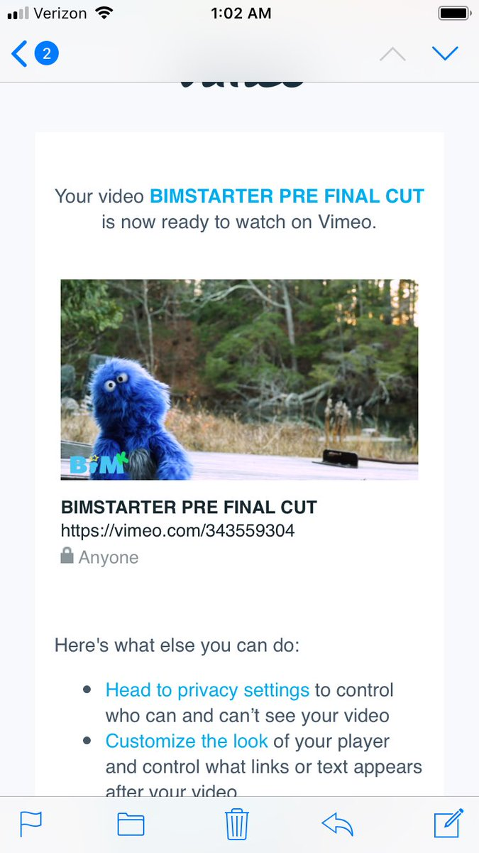 The random thumbnail generated by Vimeo for the final-rough cut of our Kickstarter video, turned out to be my favorite shot we've ever done. #goodsign #BIM #SupportIndieFilm #BogartPitching