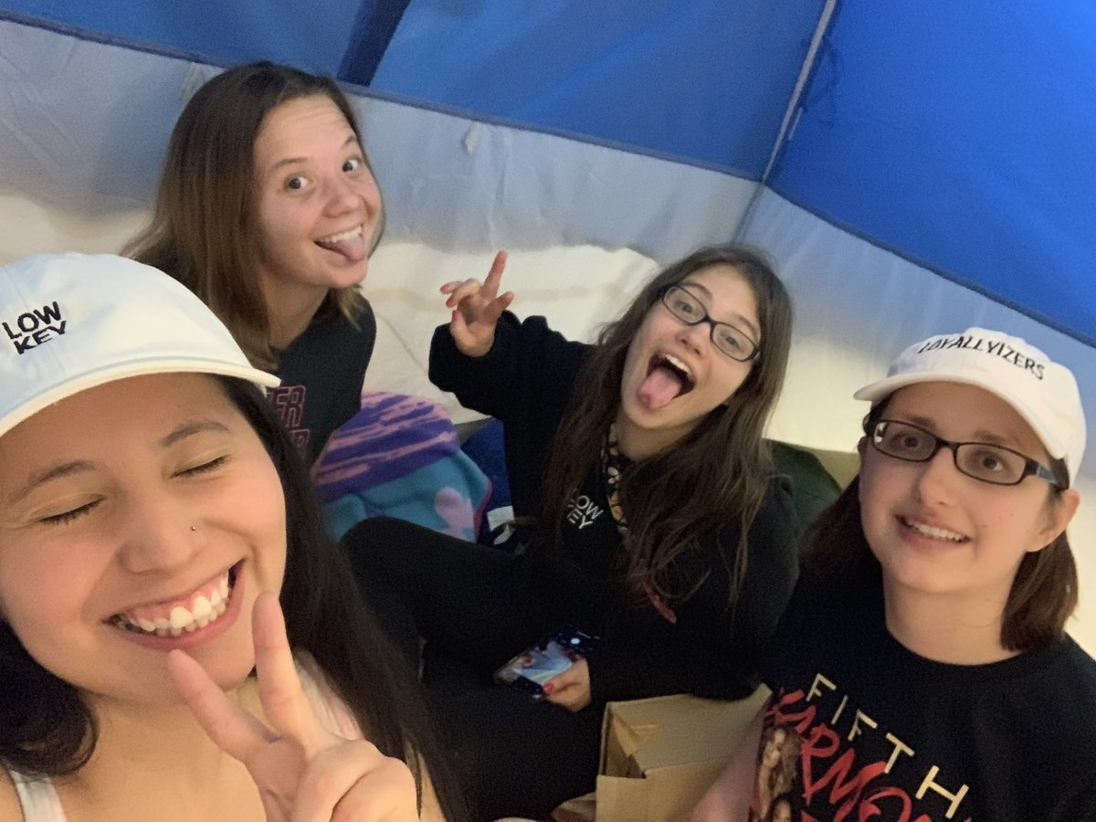 we're TRULY in a whole ass TENT camping out to see Ally tomorrow at #RWB19 @Mix933 in Kansas City!!! 🤪🥳🎉 the things we do for her ajsjsksks 😚💋 @AllyBrooke @WeLuvAllyB @Willbtouring