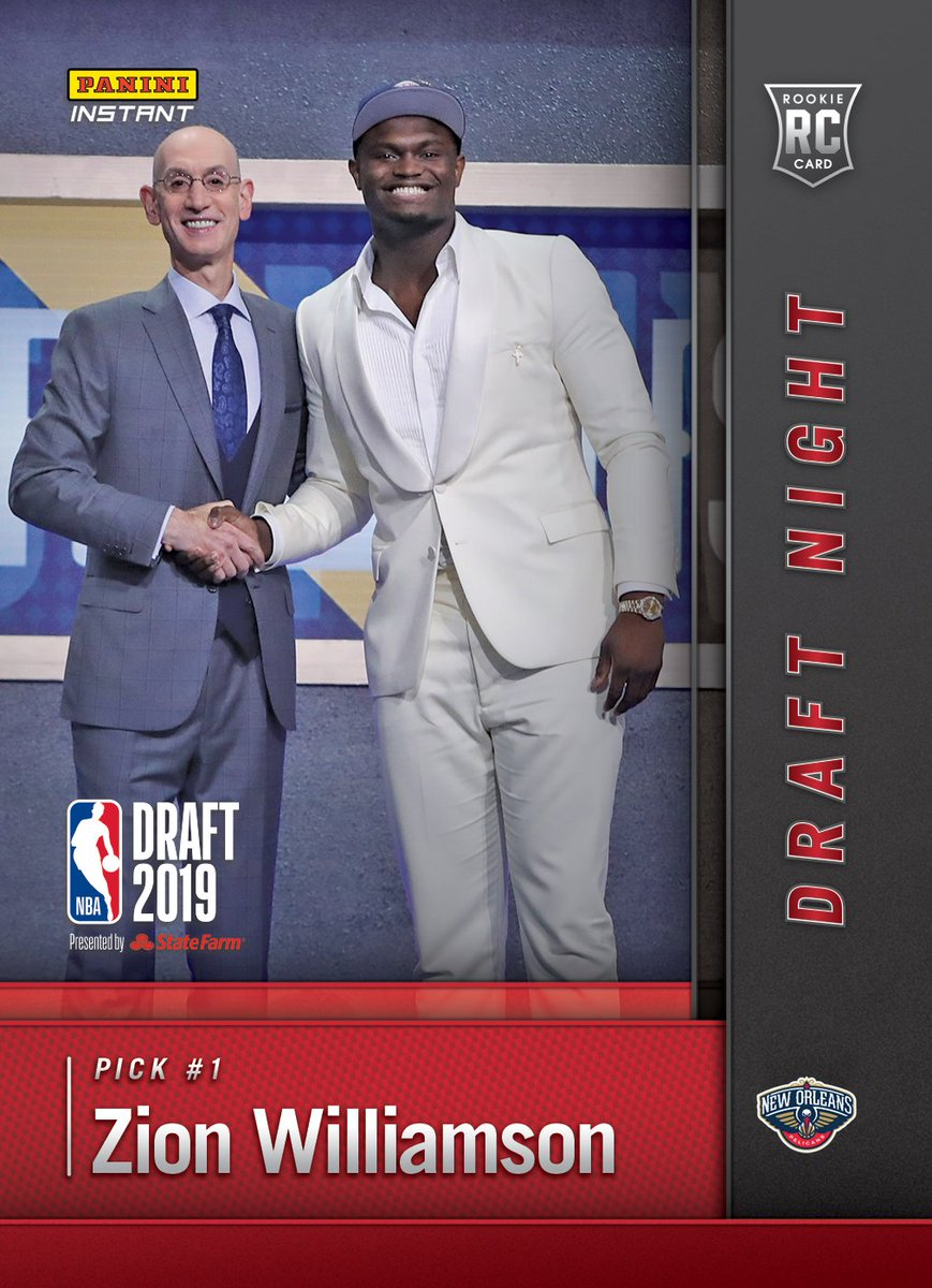 Can't wait to get started in the Big Easy @PelicansNBA 🔥. Ready to help build something special. Check out my first #PaniniInstant @NBA Rookie Card now. #WhoDoYouCollect #Pelicans #NBADraft https://qr.paniniamerica.net/2djs3_nfc