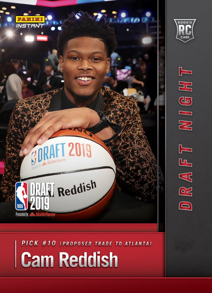 who drafted cam reddish