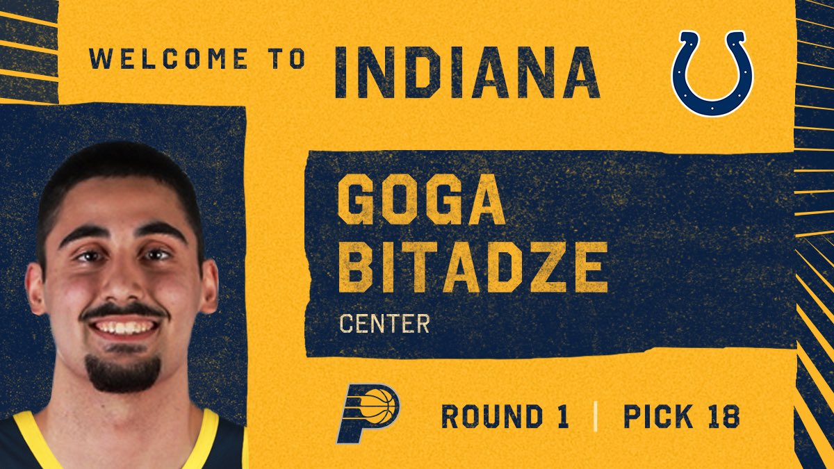 Welcome to Indiana, Goga!   #GoldOnTheClock