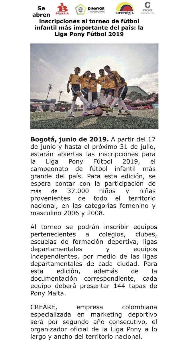 Ya viene la #LigaPonyFutbol2019 #ActitudDeCampeones http://www.crearedl.com http://www.ponymaltaoficial.com
