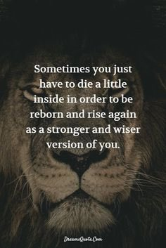 Sometimes you just have to die a little inside in order to be reborn and rise again as a stronger and wiser version of you.   #FridayMotivation  #FridayThoughts  #FridayMorning <br>http://pic.twitter.com/XdGrjMMSp5