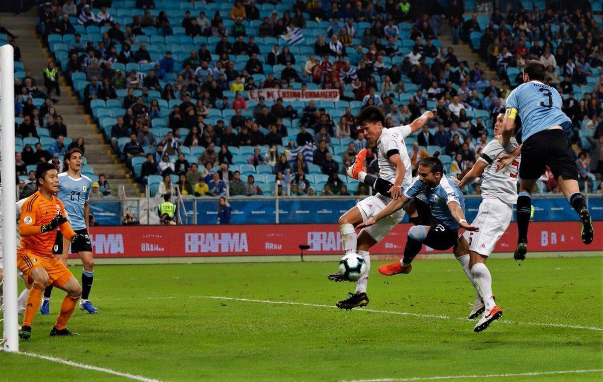 A seguir trabajando como siempre juntos y ya pensando en lo que viene! Y agradecer a toda la gente que vino desde Uruguay, muy emocionante!!! #UruguayNoma #CopaAmérica #URUJAP 🇺🇾