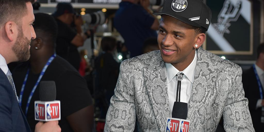 With the 17th pick, @TheReal_NAW1 was selected by the Nets (proposed trade to the Pelicans) 👏  For all that came with the major accomplishment ⤵️  📝 » https://t.co/26pjYydnPO  #NBADraft | #Hokies 🦃 https://t.co/YF6QoEnrgQ