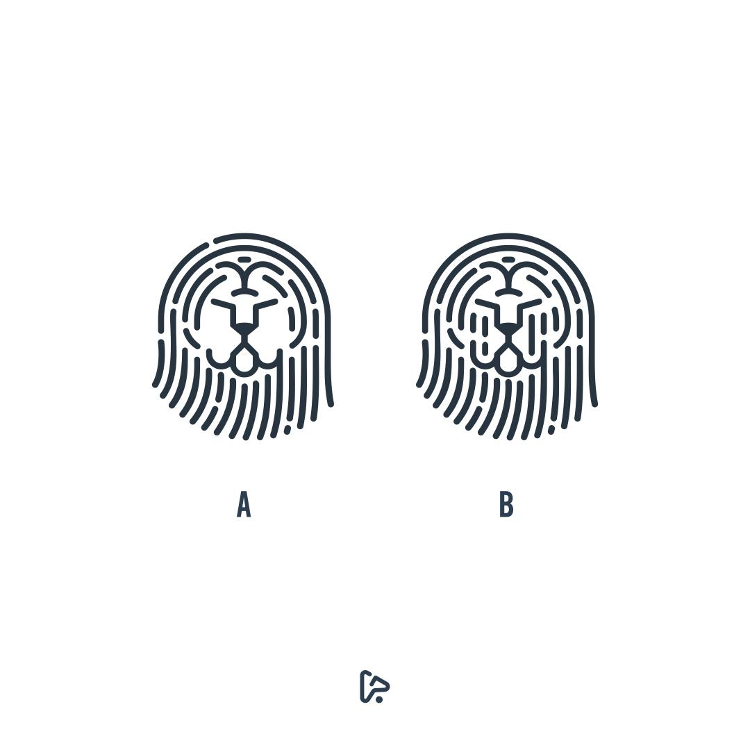 Lion Security Logo, Which one the best?   Available for