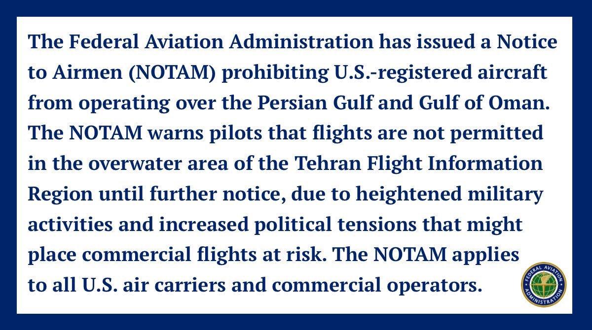 أمريكا: أرسلنا القوة الضاربة إلى الخليج بسبب تحضيرات إيران لمهاجمة عسكريينا - صفحة 8 D9joJn6UEAEraxd