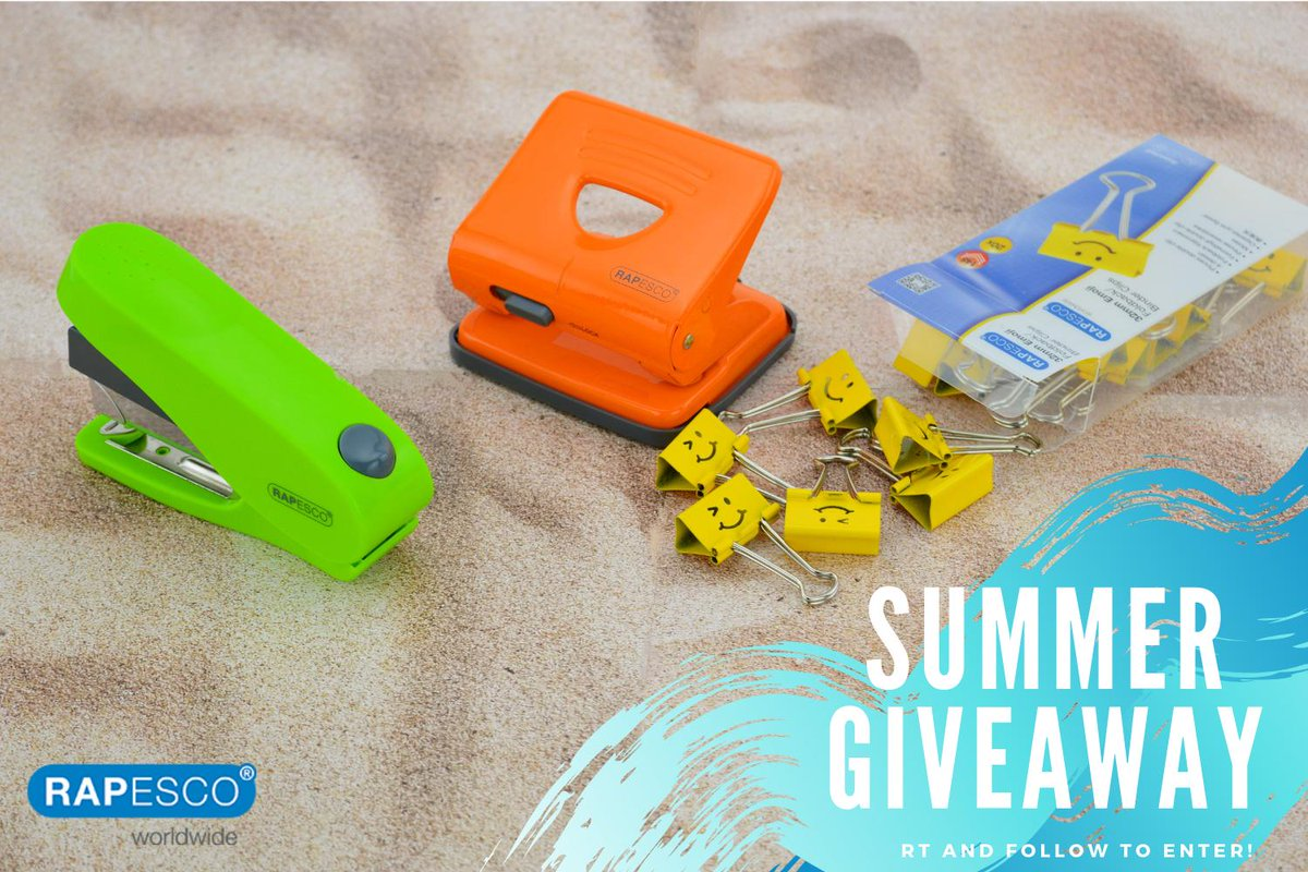 We're welcoming Summer with a huge Giveaway! Win brand new stationery in your choice of colour! Entering is easy! Simply RT & Follow us. Winner announced Friday 28th #FreebieFriday #Giveaway<br>http://pic.twitter.com/vdogSVg4l2
